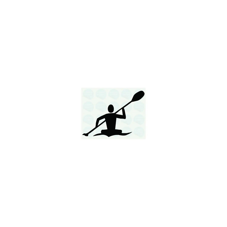 Naklejka na kajak - Toer, 15x12 cm