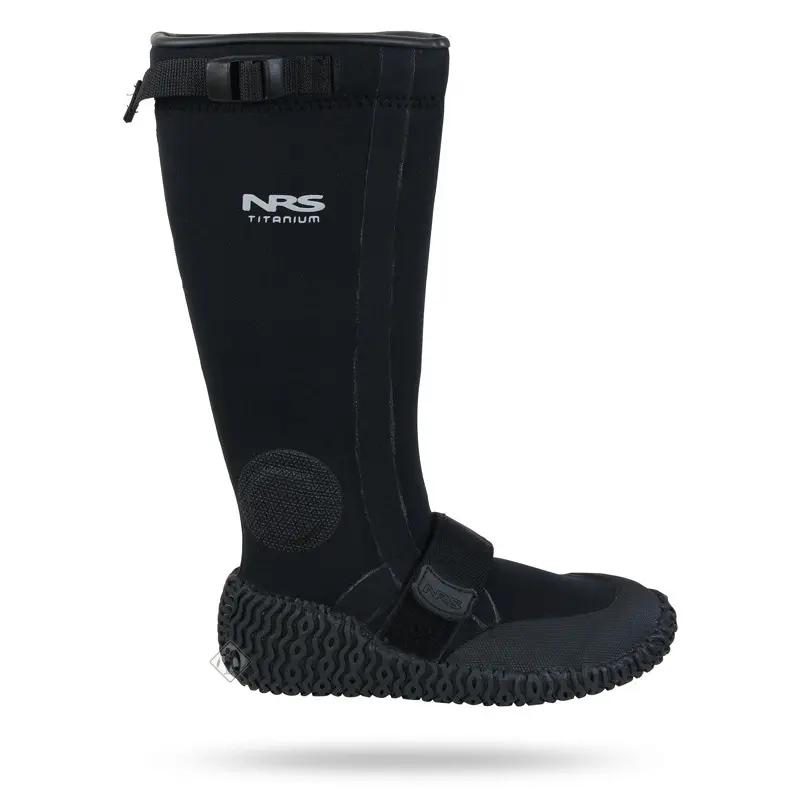 Długie buty gumowe z neoprenem NRS