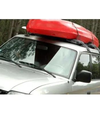 Dmuchany bagażnik samochodowy Handi do przewozu kajaków, kanadyjek i łódek
