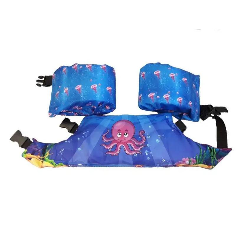Pływaczki dla dzieci - rękawki - pas do nauki pływania Puddle Jumper Aquarius w kolorze fioletowym