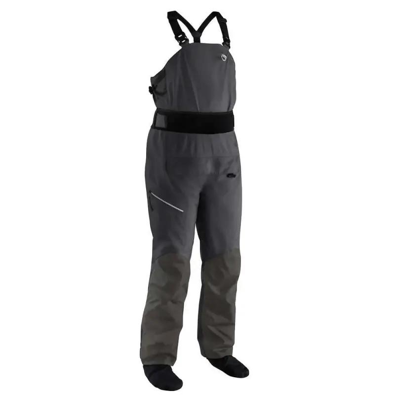 Długie męskie spodnie turystyczne z szelkami Sidewinder NRS
