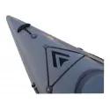 Kajak polietylenowy Traper Aquarius Wersja limitowana w kolorze szarym